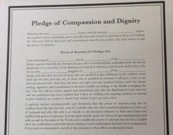 Pledge of Compassion and Dignity
